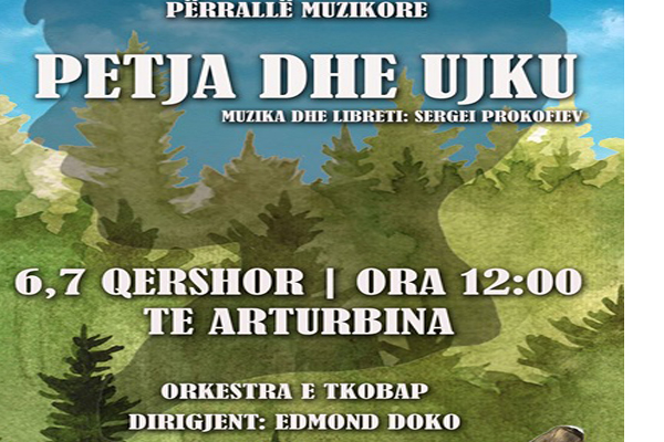 Peter and the wolf- musical for kids in Tirana