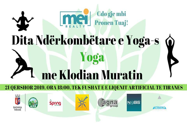 HATHA YOGA at Tirana Lake Park