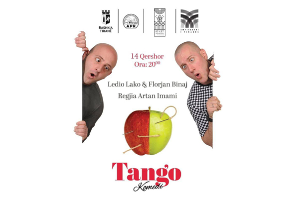 Tango comedy at Tirana Amphitheater