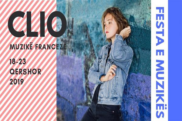 Clio-këngë franceze koncert në Tiranë
