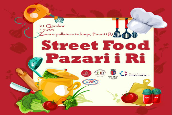 Street Food Fair at New Bazaar Tirana
