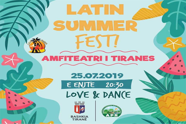 Latin Summer Fest at  Tirana Amphitheater