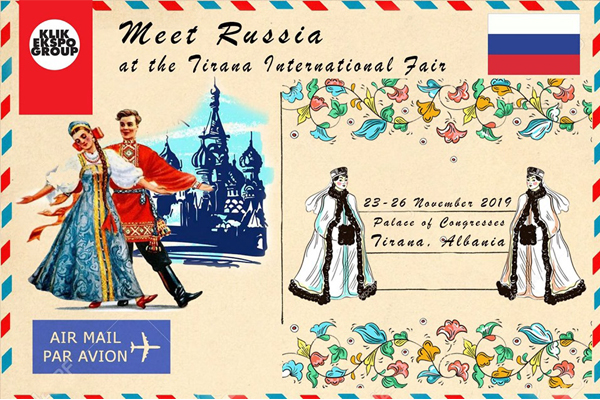 Meet Russia at the Tirana International Fair