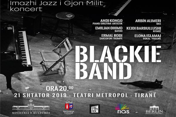 Imazhi Jazz i Gjon Milit- koncert te Teatri Metropol