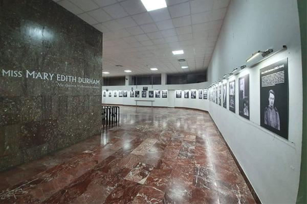 "Ekspozite 'Miss Edith Durham"" ne Muzeun Historik Kombetar"