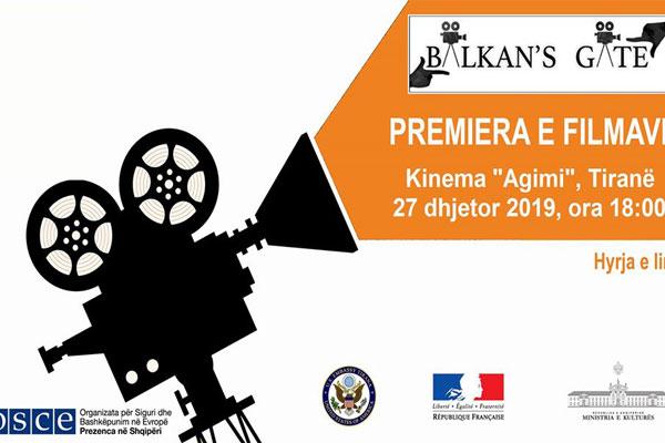 Premiera e filmave të shkurtër - Balkan's Gate 2019
