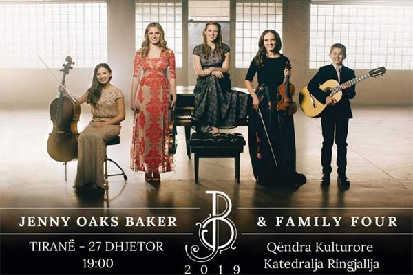 Jenny Oaks Baker Në Tiranë