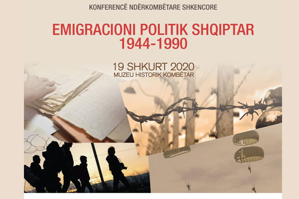Conference: Albanian Political Immigration 1944-1990