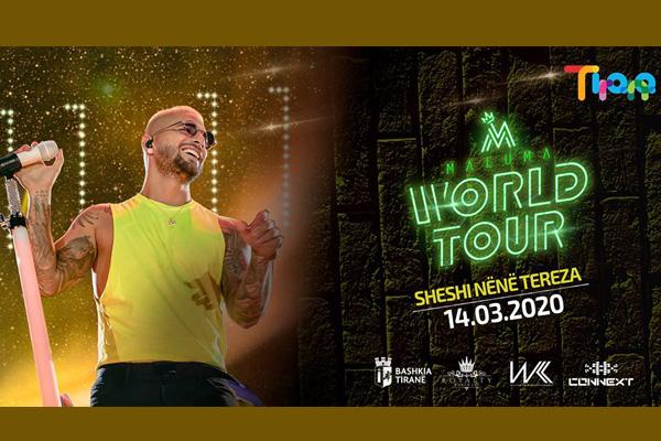 Maluma World Tour - Tirana