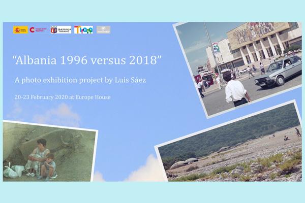 Shqipëria në vitin 1996 kundrejt vitit 2018